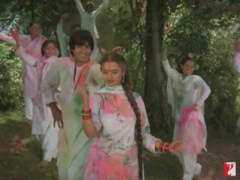 Rang Barse   Full Holi Song in HD   Silsila
