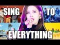 KPOP TRY TO SING TO EVERYTHING (2)