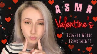 ASMR ~ Valentine's Trigger Words Assortment ❣️