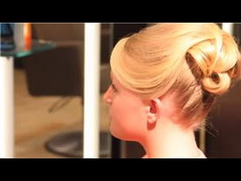 Special Occasion Hairstyles : Prom Updo Styles & Instructions for Medium Hair