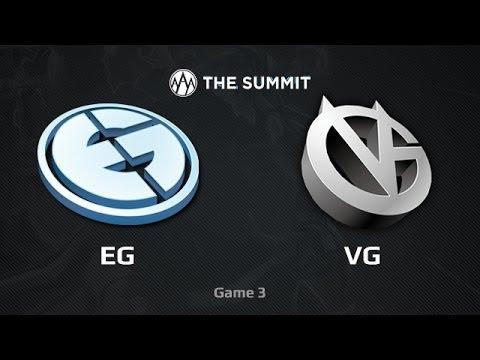 EG -vs- Vici Gaming, The Summit LB Final, Game 3