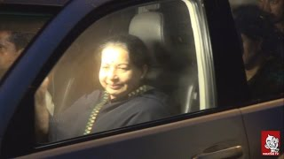 Jayalalitha Back To Poes Garden After 21 Days In Jail
