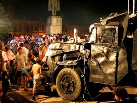 Байк-шоу Ночные волки в Керчи, июнь 2011