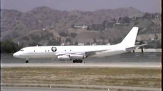 McDonnell Douglas DC-8-62 Departing BUR (Must Hear)