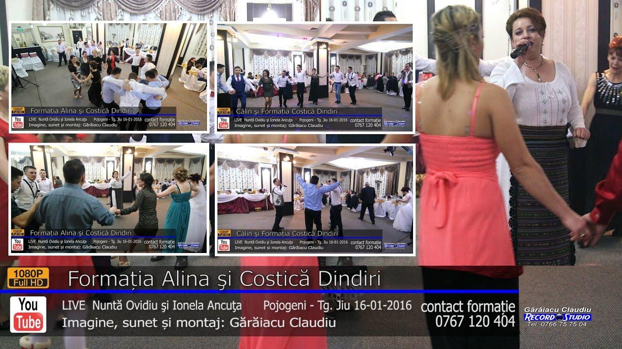 Formatia Alina si Costica Dindiri | COLAJ 80 min LIVE | Nunta Ovidiu si Ionela Ancuta