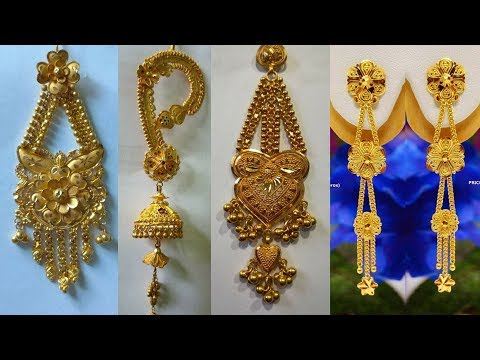GOLD EARRING DESIGNS HUGE COLLECTION