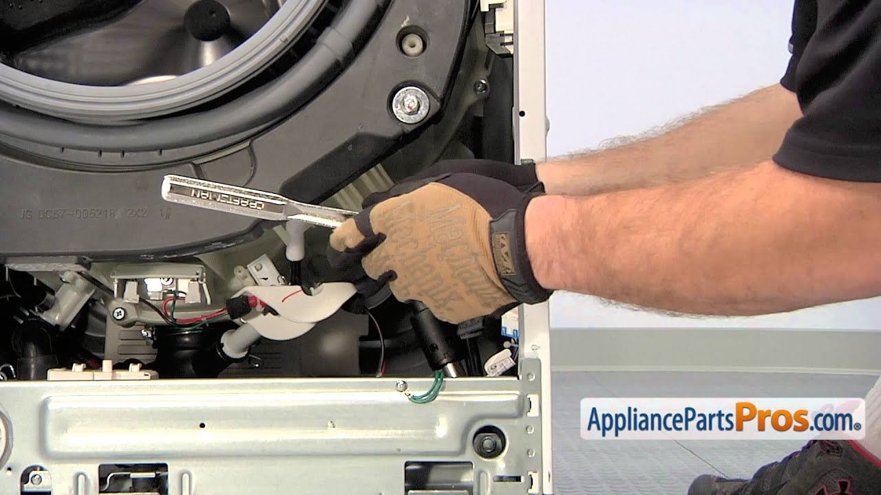 Washer Shock Absorber (part # DC66 00470A)  How To Replace  YouTube