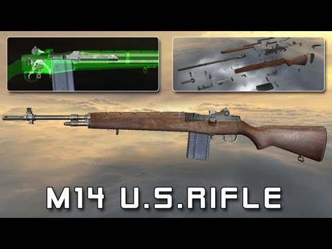 M14 rifle (full disassembly and operation)