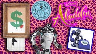 ALADDIN TEASER, BANSKY SHREDDED, ROBOCALLS | The BS On the INTERNET