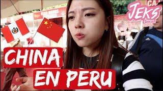 TUVE QUE COMER COMIDA CHINA EN PERÚ! LO PUEDES CREER!? - JEKS