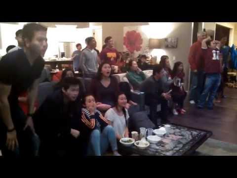 Seahawks fan reaction to Malcom Butler game winning interception Super Bowl