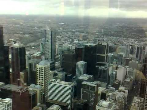 SKY DECK IN MELBOURNE (EUREKA TOWER ) 05-07-2011