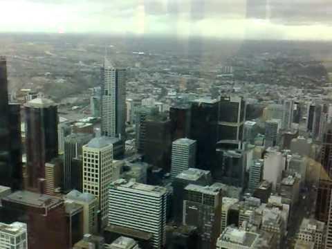 SKY DECK IN MELBOURNE (EUREKA TOWER ) 05-07-2011
