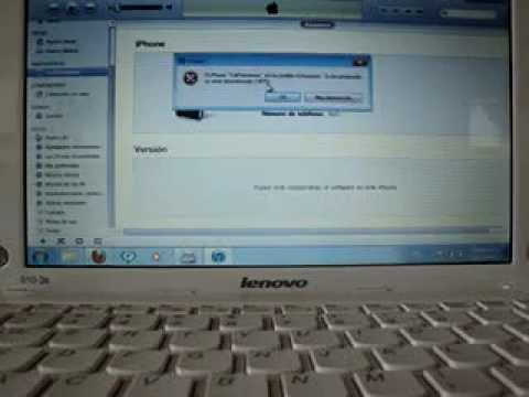 Restaura Tu Iphone 3g Del Error 1015 (o Actualizalo) Part 1 De Ios 3.xxx A 4.2.1 video