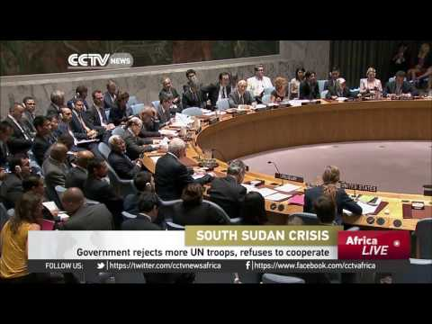 UN Approves New Peacekeeping Force To South Sudan