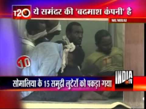 15 Somalian Pirates Captured By The Indian Navy