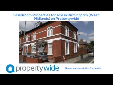 5 Bedroom Properties for sale in Birmingham (West Midlands) on Propertywide