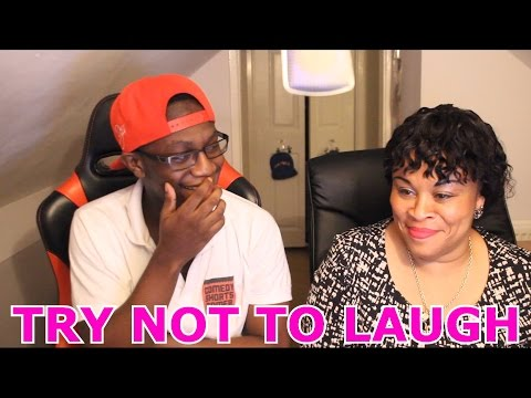 Try Not To Laugh Challenge With my Mum