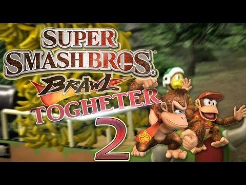 Let's Play Super Smash Bros. Brawl Part 2: Bananenklau im Dschungel