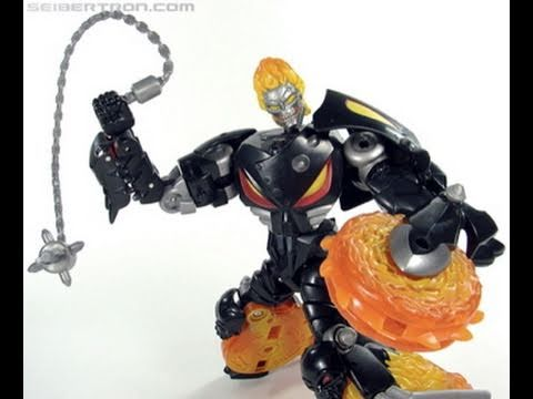 Transformers Marvel Crossovers Ghost Rider Toy Review