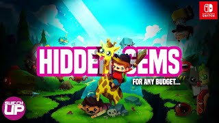 Top Nintendo Switch HIDDEN GEMS for ANY BUDGET (10 cheap Switch games)