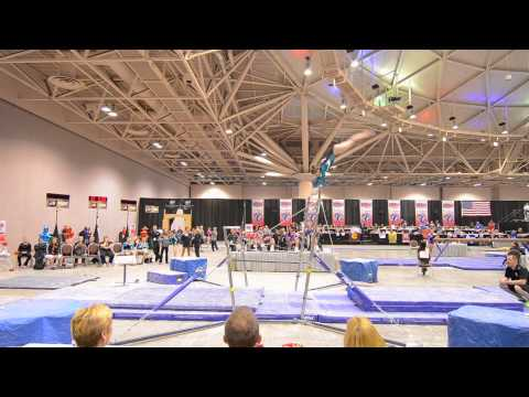 Shani Remme ~ 2013 National Championships  BARS Jr C