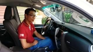 Cách chuyển và cắt cầu xe Fortuner 4x4 2017