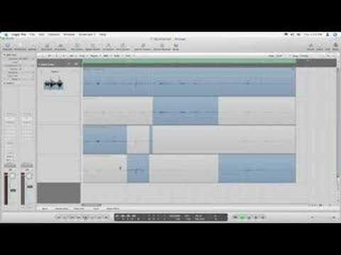 Logic Pro Quicktip: Quick Swipe Comping in Logic Pro 8