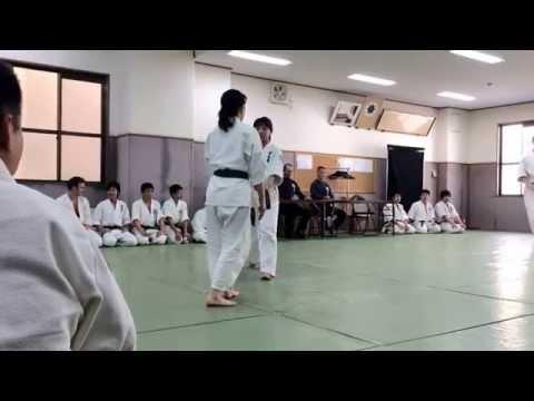 Shodokan aikido grading. Uki waza of junanahon Image 1