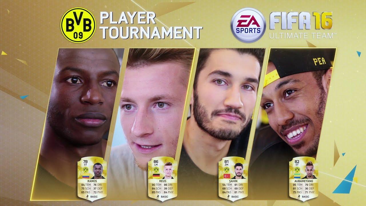 El torneo de los jugadores del Borussia Dortmund en el FIFA 16