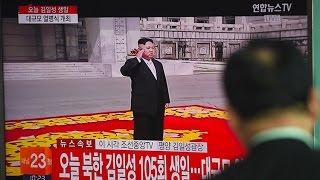 Corea del Norte muestra su poderío militar en un gran desfile