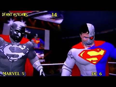WWE'12 *Marvel vs Dc Comics*