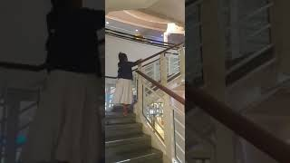 Ismah was in the Trafford centre Manchester