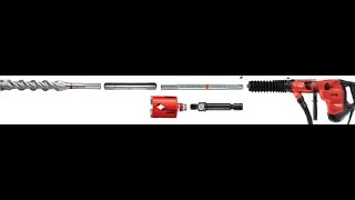 Комплект аксессуаров для перфоратора SDS MAX (Hilti TE 60).