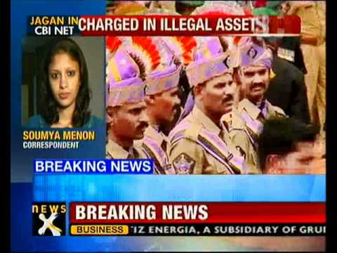 CBI files chargesheet against Jagan Reddy in illegal assets case - NewsX
