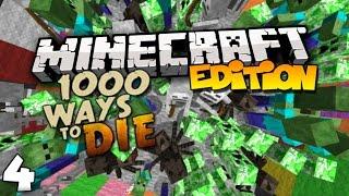 Top 10 Ways to Die in Minecraft (1000 Ways to Die) Part 4