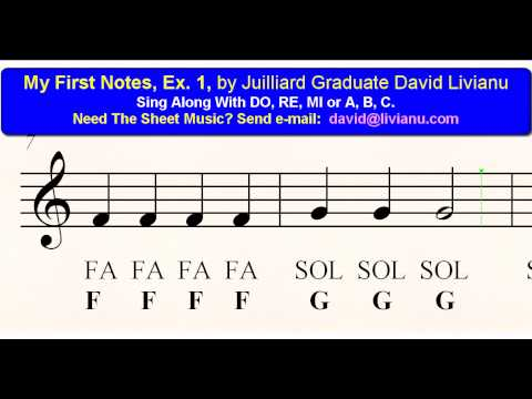 how to write music notes
