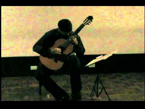 Roberto Angulo Plays El Abejorro - Emilio Pujol