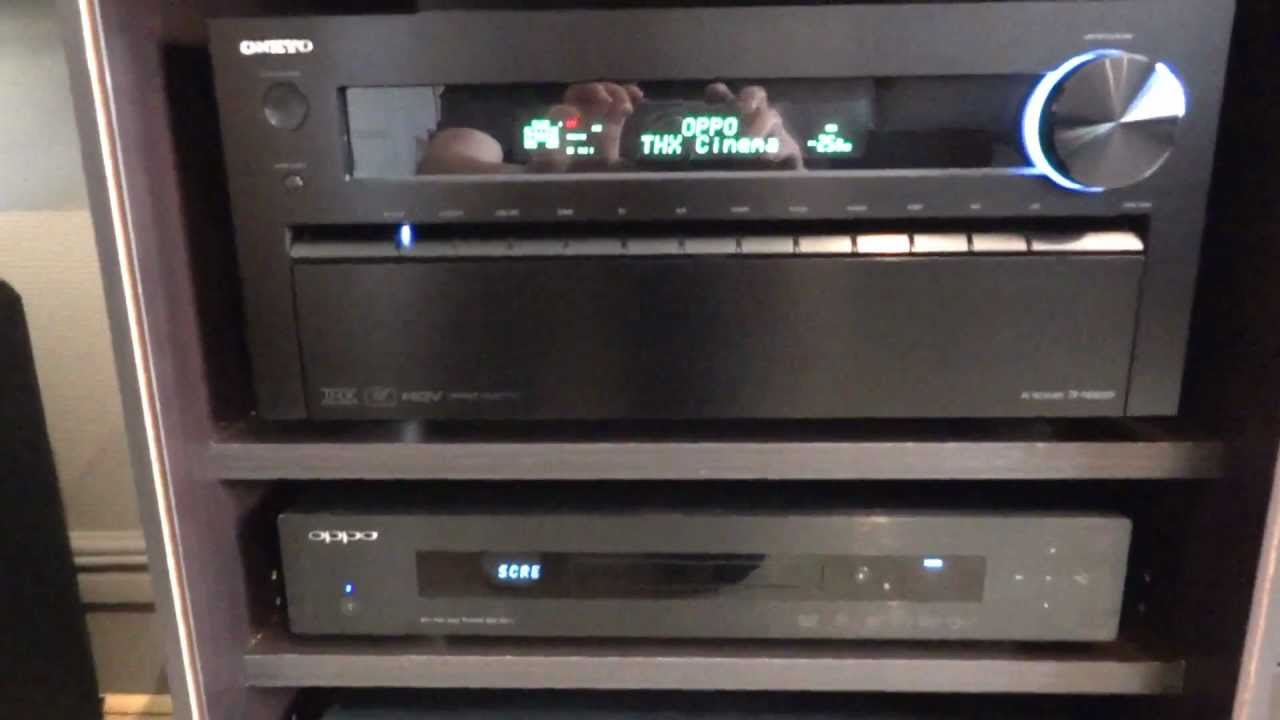 Onkyo tx nr5009 home cinema 9 1 thx youtube - Thx home cinema ...