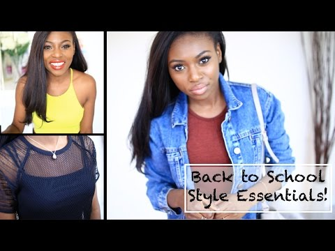 BACK TO SCHOOL/ COLLEGE STYLE INSPIRATION & ESSENTIALS