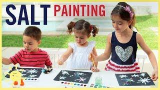 PLAY   Easy Salt Paintings!