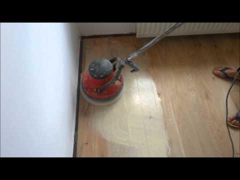 Olie op een houten vloer aanbrengen
