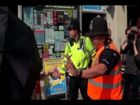 UK -  Police liaison  officers accused of harassing activist