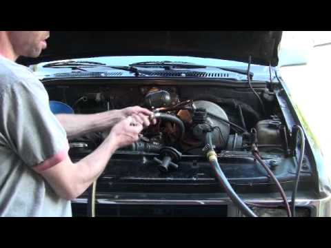 1988 Dodge Dakota Heater Core Back Flush Youtube