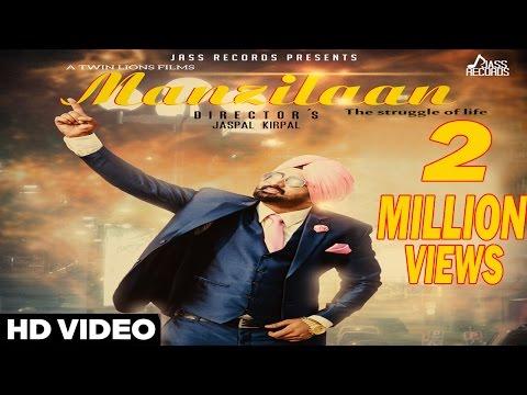 Manzilaan | Lakha Chuhar Chakk | New Punjabi Video Songs 2016
