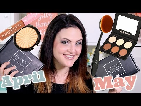 Boxycharm MAY Unboxing + April REVIEW! 😊 Jen Luvs Reviews 😊