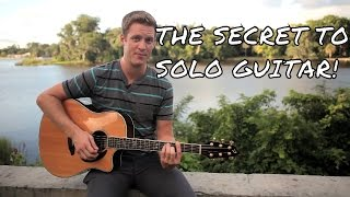 Download Lagu THIS IS THE SECRET TO SOLO GUITAR! Gratis STAFABAND