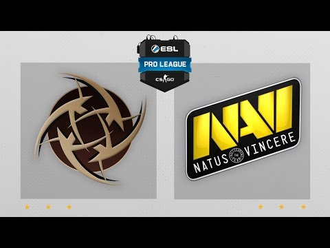 CS:GO - NiP Vs. NaVi [Dust2] Map 2 - ESL Pro League Season 4 - EU Matchday 16