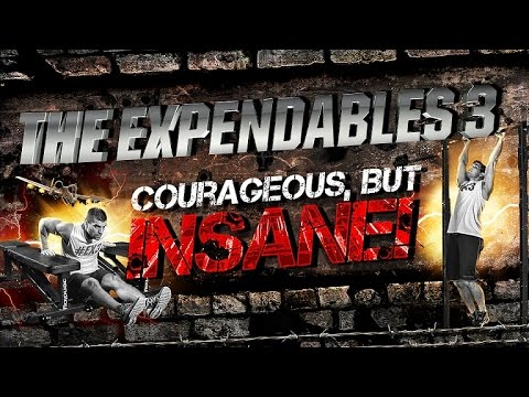 The Expendables 3 Workout- Courageous, But Insane! video