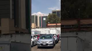 Video de momento exacto en que se derrumba un edificio en México se vuelve viral